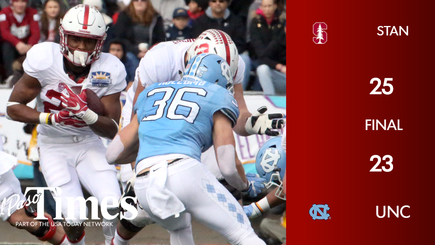 Hyundai Des Moines >> Stanford holds on to win Sun Bowl