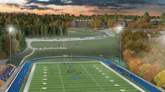 Asheville School will break ground in May on a new multi-purpose athletic complex with lights for this fall's athletic season.