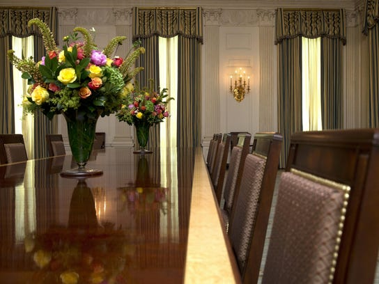 Michelle Obama State Dining Room (3)
