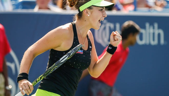 Rogers Cup champion Belinda Bencic retired Thursday from her Western & Southern match against Lucie Safarova because of muscular ailment in her forearm.