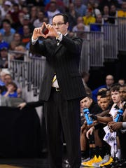 Wichita State Shockers head coach Gregg Marshall during