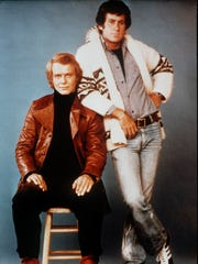 David Soul (left) and Paul Michael Glaser were the