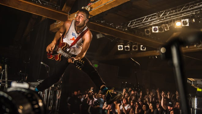 Jack Antonoff of Bleachers performs at Showbox SoDo in Seattle on July 25, 2015.
