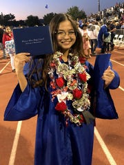 Felicity Charlize Babin Villagomez formerly of Barrigada, graduated June 1, 2018 from Orange Glen High School, San Diego CA. Villagomez graduated with Golden State Seal Merit and a 4.5 grade point average. She will be attending University of San Diego with plans to major in Biochemistry to pursue Pharmaceutical. Her proud parents are Jesse and Esther Villagomez and her brother Jesse Ray Villagomez.