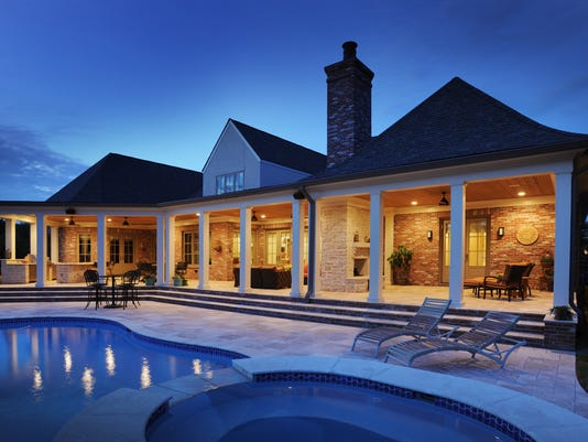 Beyond swimming pools: Spas, kitchens add to outdoor ... on Outdoor Living Pool And Spa id=68153