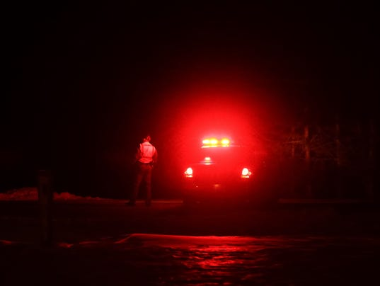 Traffic was rerouted on State 96 at Midway Road after a crash Friday ...