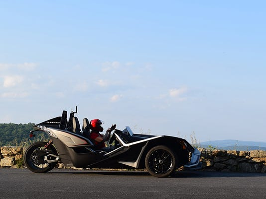 Polaris Slingshot Not Your Average Three Wheeled Motorcycle
