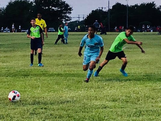 Malachi soccer again