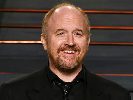 In this Feb. 28, 2016 file photo, Louis C.K. arrives at the Vanity Fair Oscar Party in Beverly Hills, Calif. The comedian has been accused of sexual misconduct by multiple women.