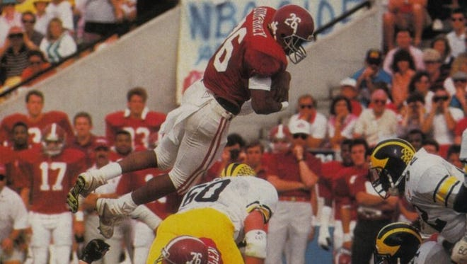 Former Alabama star Bobby Humphrey is on the ballot for the 2016 College Football Hall of Fame class.