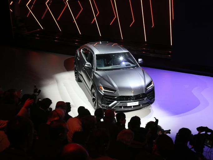 The new Lamborghini 'Urus' the first Super Sport Utility