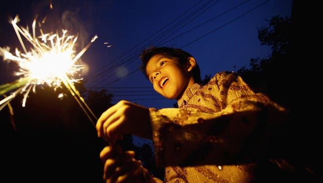 Take precautions when celebrating July 4. Even sparklers can burn hot enough to melt some metals.