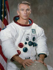 "Eugene ""Gene"" Cernan, one of 14 astronauts that NASA"