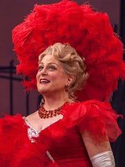 "Deborah Voigt in Michigan Opera Theatre's ""The Merry Widow"" in 2015."