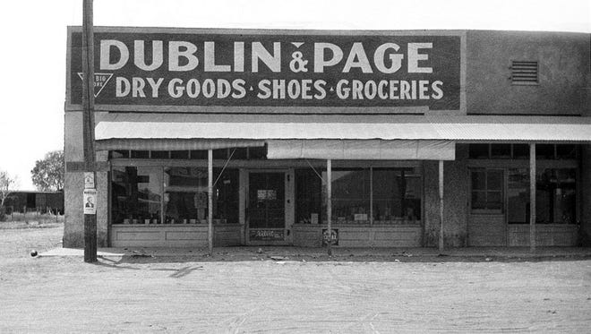 The town's first market went through several ownership changes by the time Dublin and Page took over.