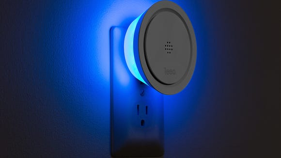 This smart night light also helps to protect your home.