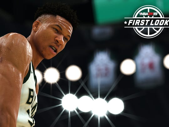Bucks star Giannis Antetokounmpo is on the cover of NBA 2K19.