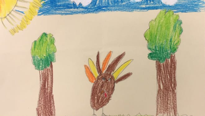 Charlotte Genesi, grade two, Pawling Elementary School