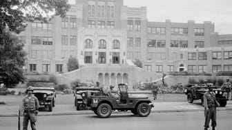 It has been more than 60 years since members of the 101st Airborne Division take up positions outside Central High School in Little Rock, Ark., to enforce court-ordered integration at the school.