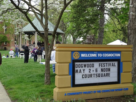 The 32nd Annual Dogwood Festival continues downtown