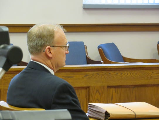Chief Assistant District Attorney Michael Korchak awaits