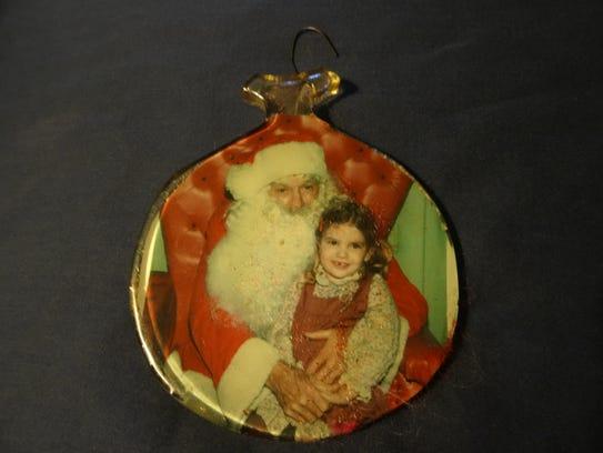 Leigh and Santa Clause