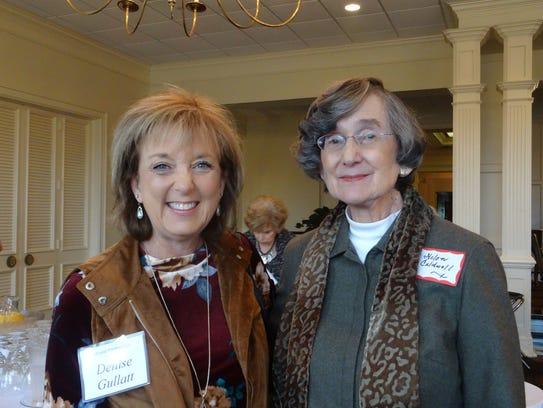 Denise Gullatt and Hellen Caldwell