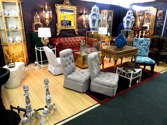 Antiques on the Hudson at Lyndhurst takes place April