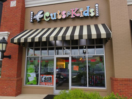 Sharkey's Cuts for Kids is at 7834 Montvue Center Way.