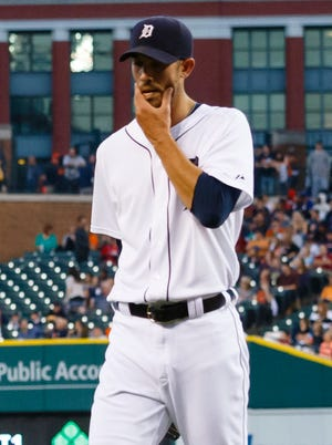 Rick Porcello was shelled for six runs in under four innings.
