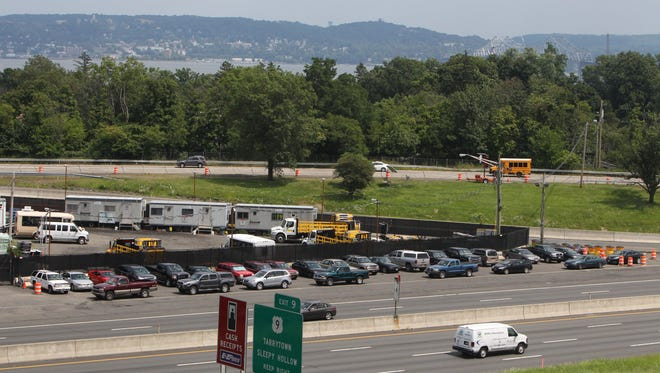 """Tappan Zee Bridge project officials report """"significant progress"""" on their efforts with South Nyack to relocate the new bridge's shared path to Interchange 10 along the New York State Thruway."""