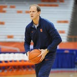 Syracuse announced Thursday that assistant coach Mike Hopkins will take over for head coach Jim Boeheim following Boeheim's retirement in 2018.