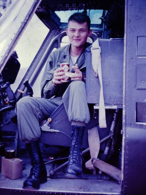 Mike Albers served in the U.S. Army Aviation from 1966 to 1970 and piloted helicopters in Vietnam.