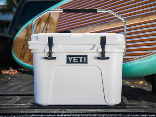 Yeti's hard-sided coolers are nearly indestructible and light.