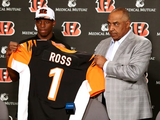 Cincinnati Bengals first round draft pick John Ross