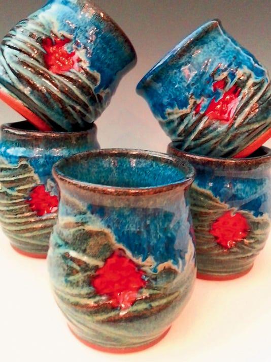 Work of potter Renne' Bradley.