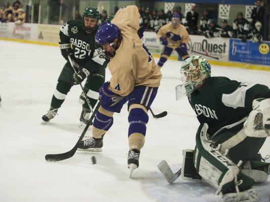 Babson vs. St. Michael's Men's Hockey 01/09/15