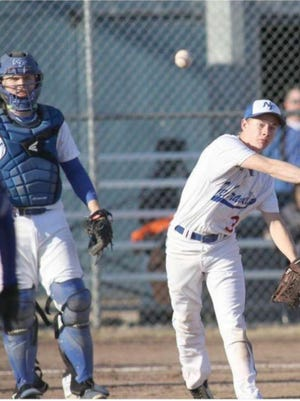 """New Franklin senior Andy Neal lettered all three seasons in baseball for the Bulldogs. Neal said he liked being on the mound the most because he always felt in control of the game and how fast-paced it was. """"Iliked being able to control the game,"""" Neal said."""