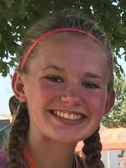 Marlette High School sophomore Riley Ford.