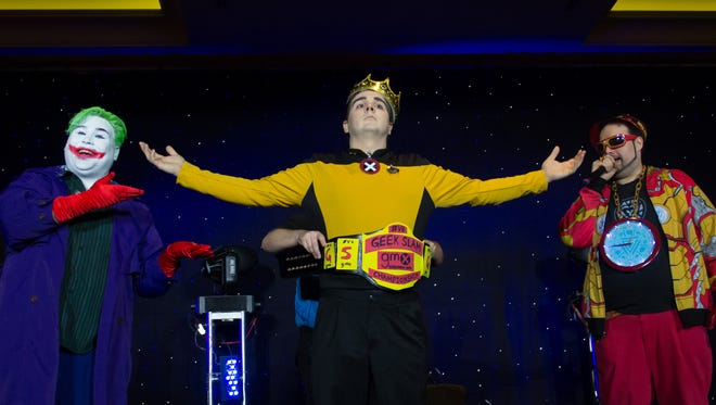 """The winner of the """"Geek Slam"""" is crowned at the 2014 Geek Media Expo in Nashville. The event returns Friday-Sunday."""
