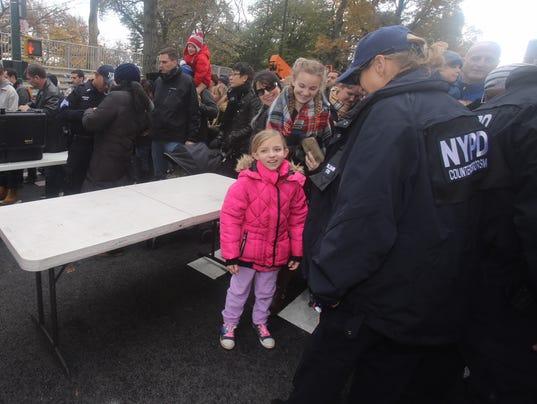 Thanksgiving 2017 parade security