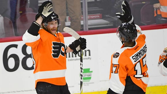 The Flyers announced their preseason schedule Wednesday.