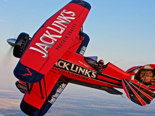 """The Jack Links """"Screaming Sasquatch"""" air plane is part of this year's OC Air Show in Ocean City, Maryland. This year's show is June 18-19, 2016."""