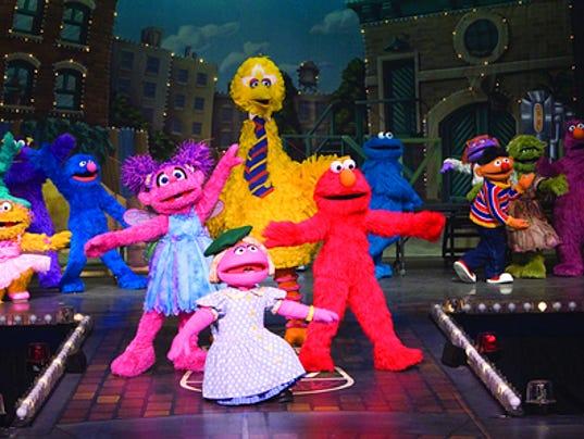 Elmo And Friends Live Tour