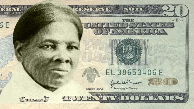 The bill design proposed by the Women on $20s campaign.