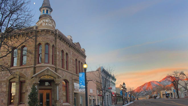 A view of historic downtown Canon City. Canon City voters will be asked to decide the fate of the city's franchise with Black Hills Energy during the Nov. 3 general election.