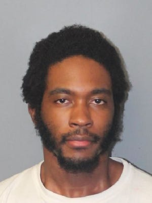 Georges Schmidreck, 23, of 56 Boylston St., Apt. A, Brockton, was arrested and charged with assault and battery with a dangerous weapon, assault and battery on a police officer, failing to disperse a riot, disturbing the peace and disorderly conduct, Tuesday, June 2, 2020.