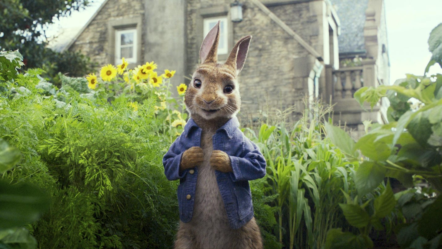 'Peter Rabbit' team sorry for making light of allergies