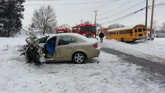 Daniel L. Hollaert Jr., 23, died Dec. 17, 2013, when his car crossed the center line on Route 104 in Orleans County and hit a Kendall Central School District bus head on.