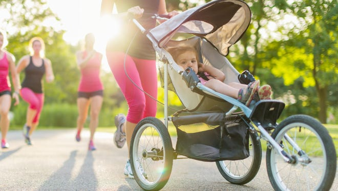 Asheville has plenty of trails and greenways that can accommodate parents or grandparents who are pushing a stroller.